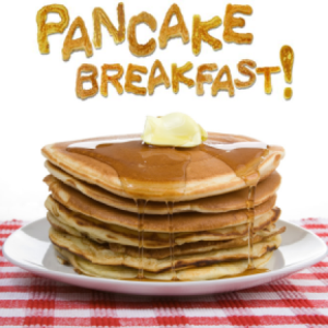 Pancake Breakfast at Capitol Hill Elementary School, Burnaby, BC